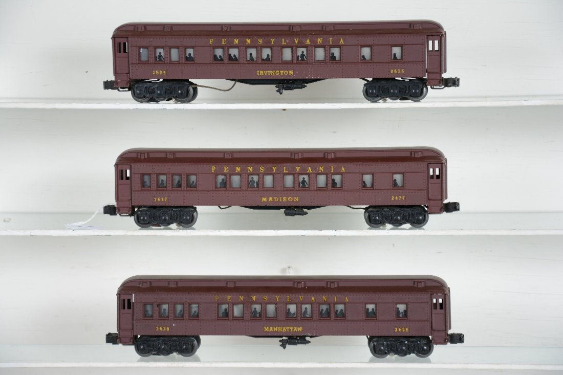 Rare Yellow Decaled Lionel Madison Cars