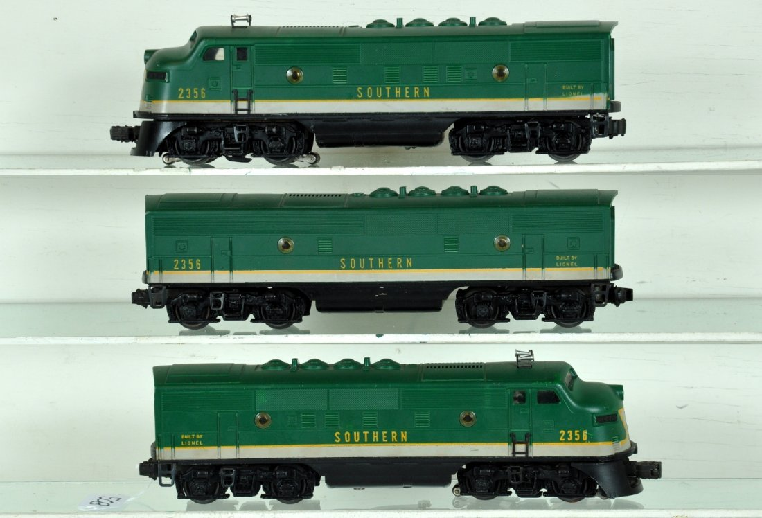 Clean Lionel 2356 Southern F3 ABA Diesels