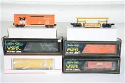 6 Assorted Modern Freight Cars