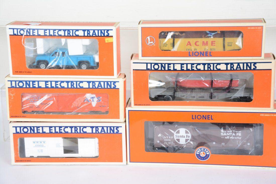 6Pc Lionel Modern Lot