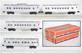 4 Clean Boxed Lionel Passenger Cars