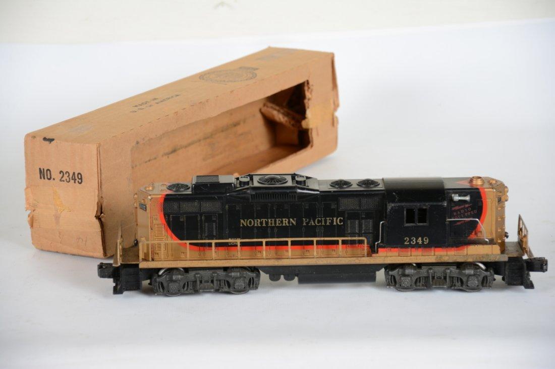 Boxed Lionel 2349 NP GP9 Diesel