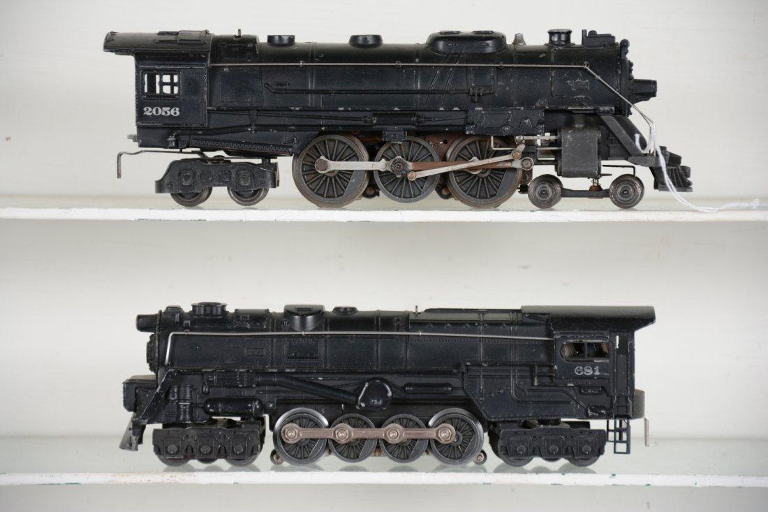 Lionel 681 & 2056 Steam Locomotives