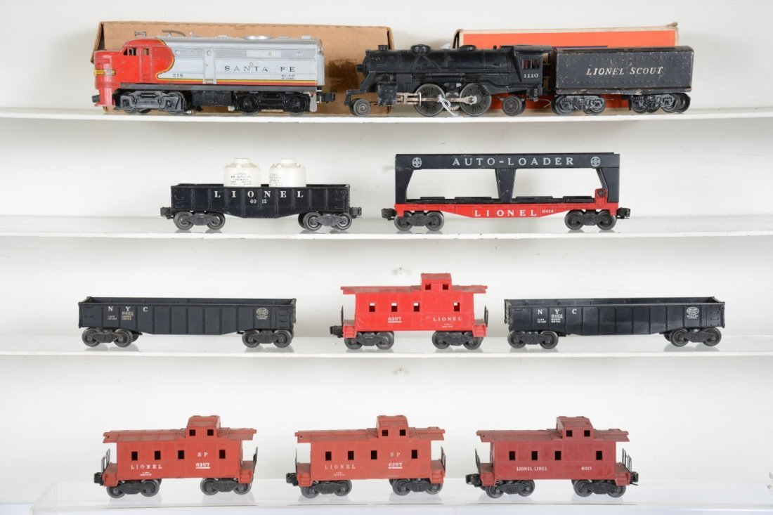 Lionel Rolling Stock & Power