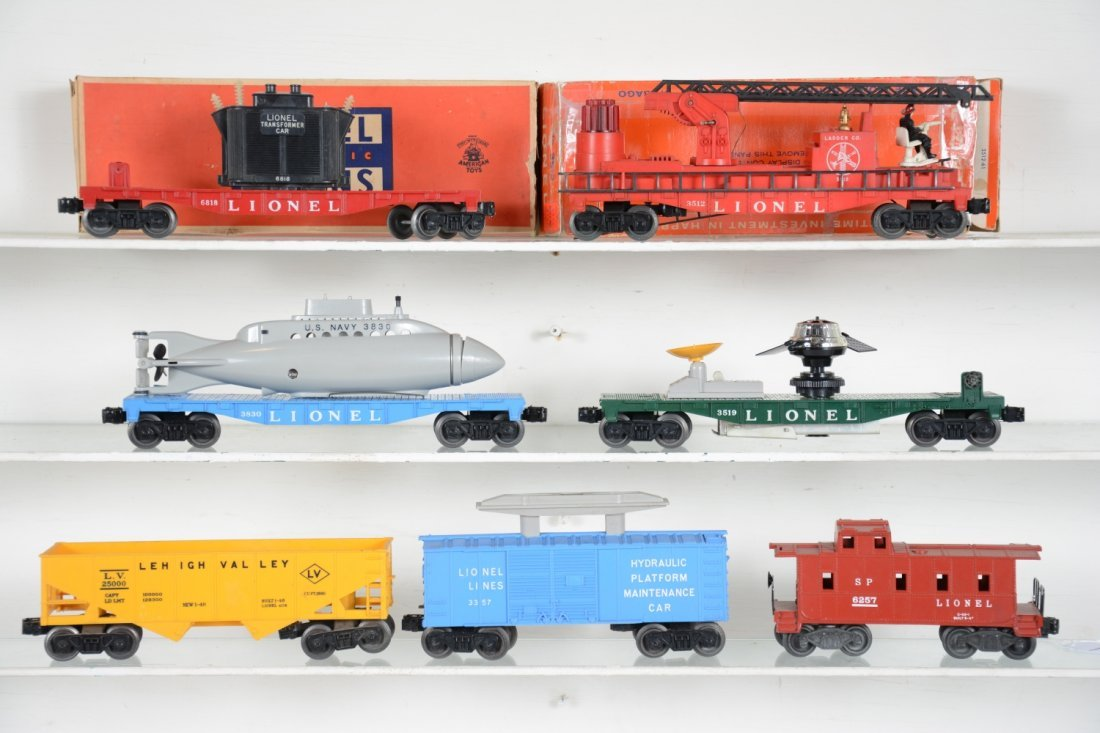Lionel Rolling  Stock