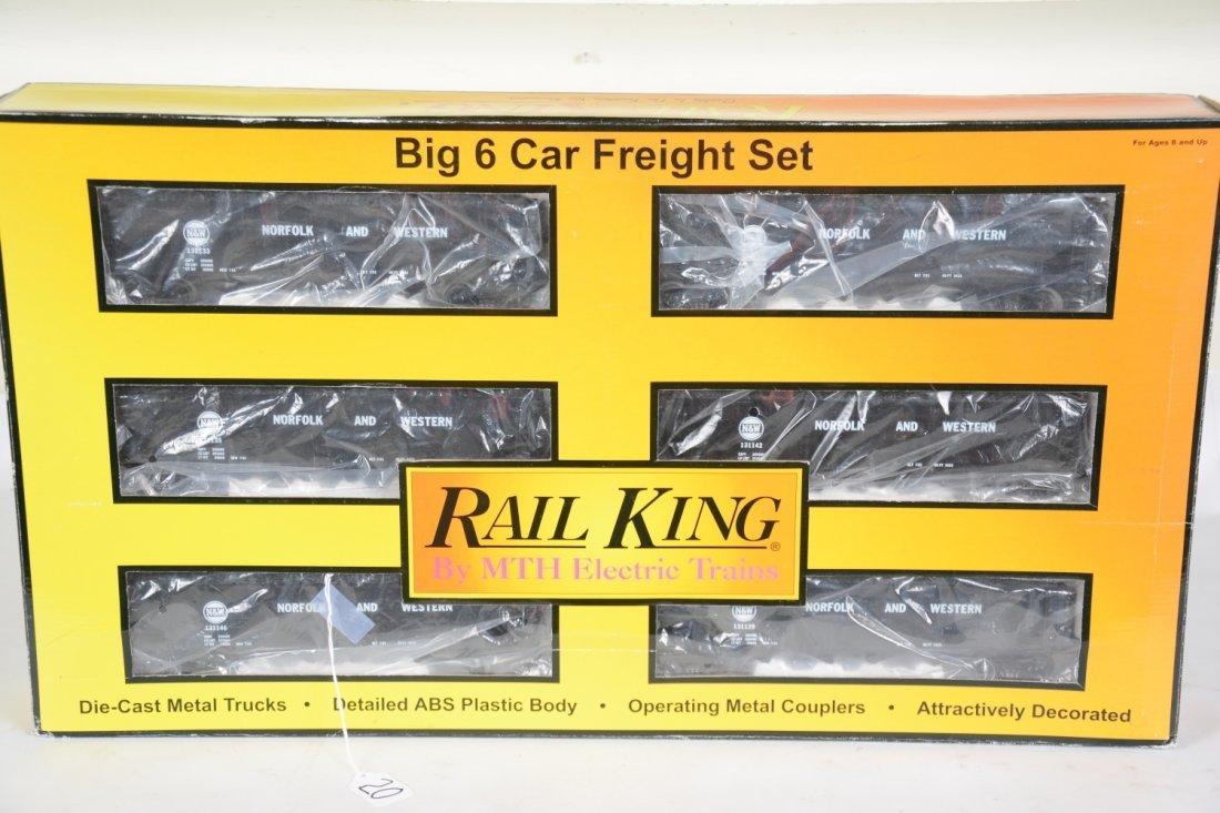 MTH RailKing 30-7536 N&W Hopper Set