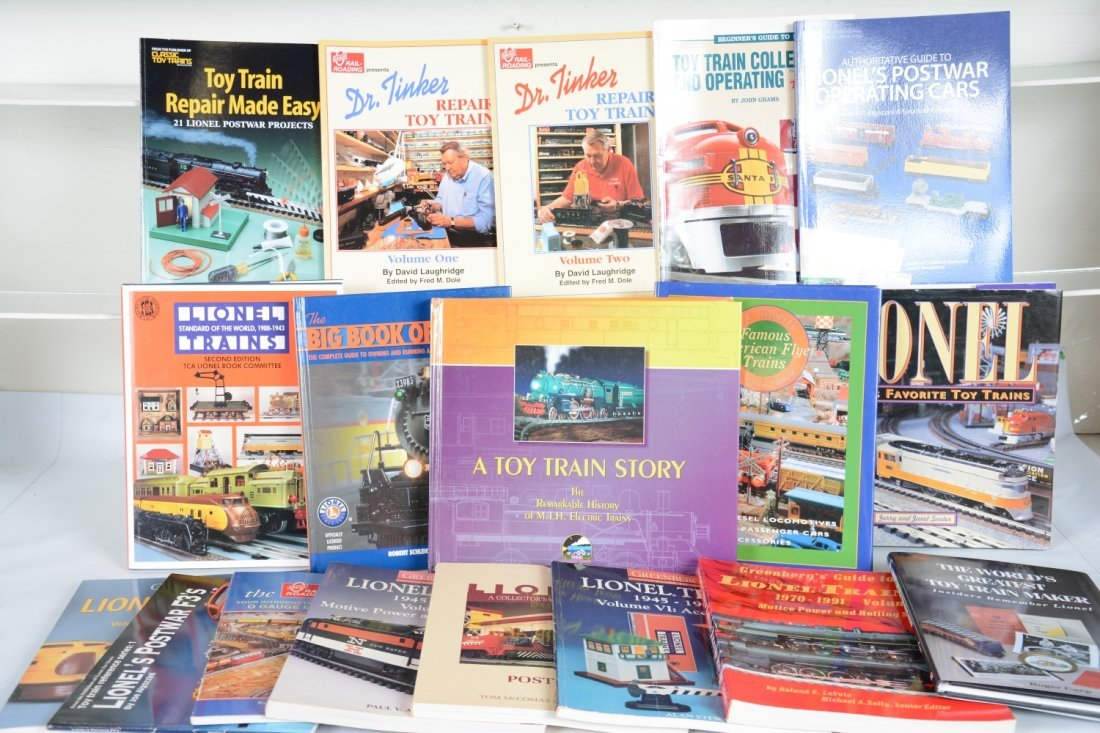 Toy Train Reference Books