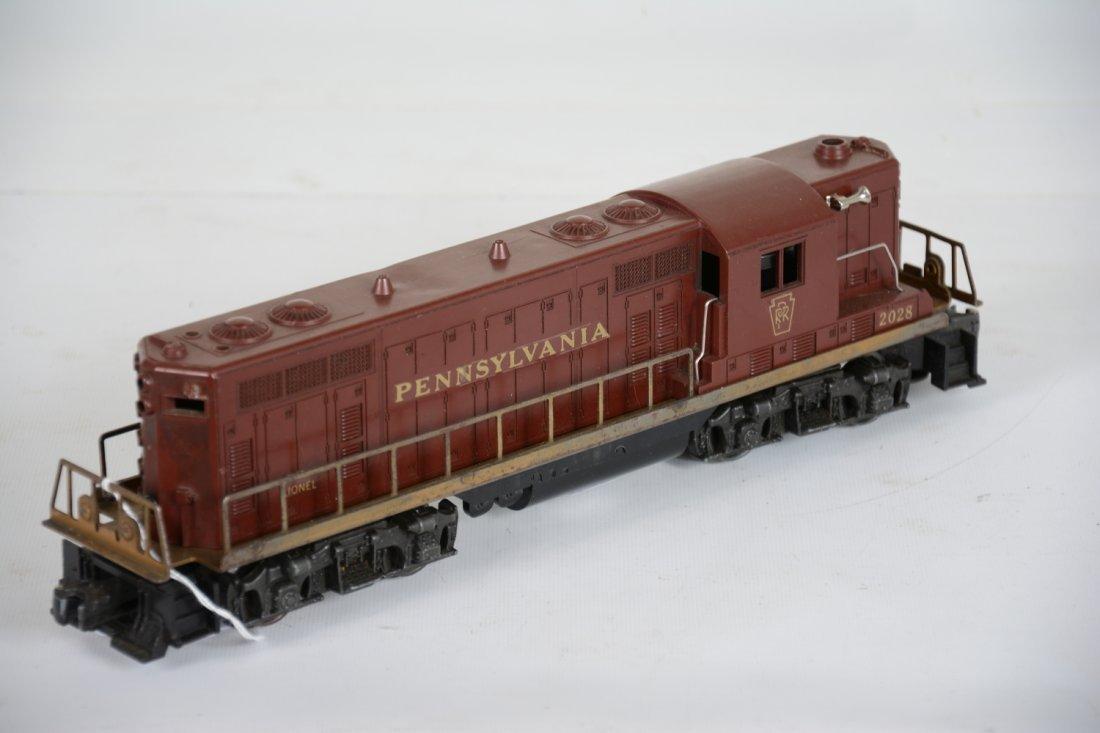 Lionel 2028 PRR GP7 Diesel