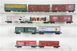 Assorted Modern Freight Cars