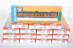 16Pc Walthers HO GN Empire Builder Cars