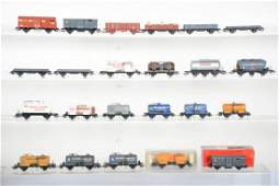 22+ Assorted Electrotren HO Freight Cars