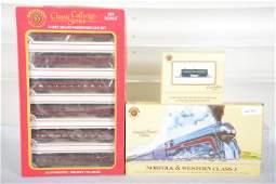 Bachmann HO N&W Steam Passenger Set