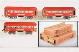 Clean Boxed Lionel 710 Passenger Cars