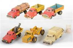 Marx Litho Tin Trucks