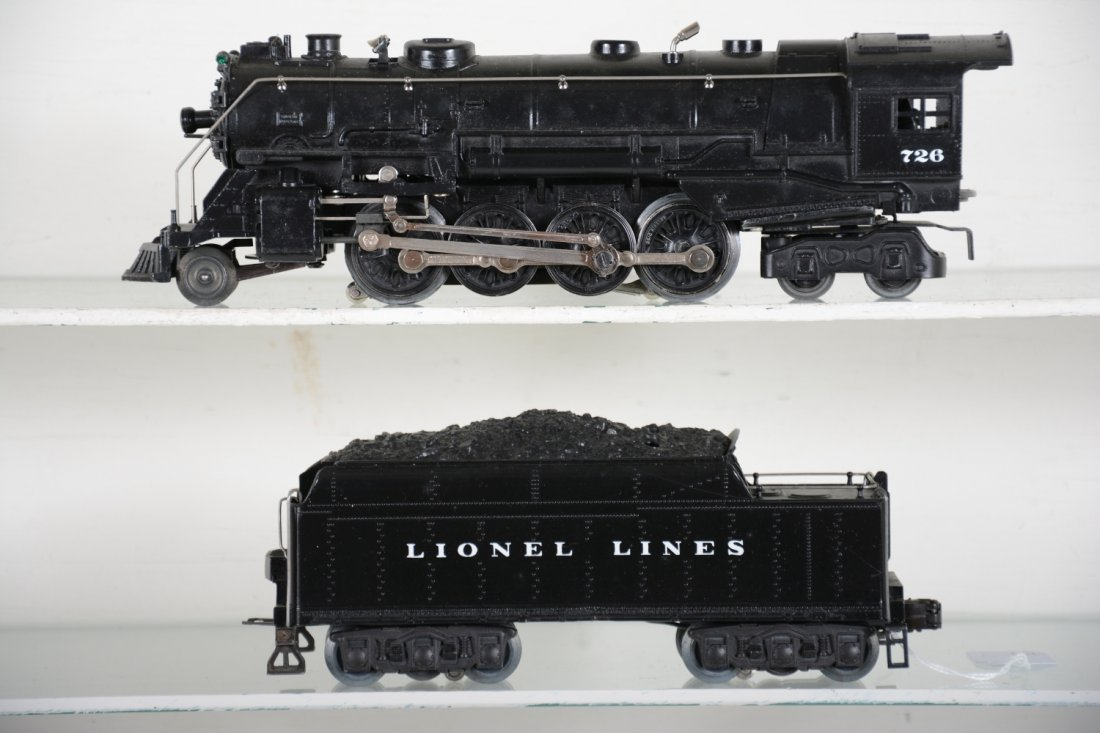 Nicely Restored Lionel 726 Berkshire