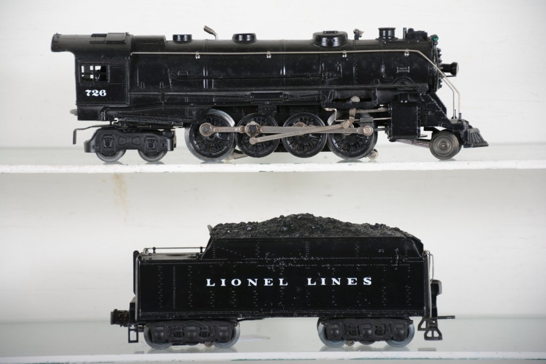 Nicely Restored Lionel 726 Berkshire - 2