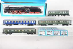 Boxed Marklin HO DB Steam Passenger Set