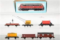 Marklin HO German Diesel Freight Set