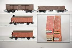 Boxed Early Marklin HO Freight Cars