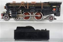 Lionel 392E Steam Locomotive & Tender Project