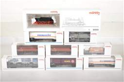 Marklin HO Steam Boggy Truck Freight Set