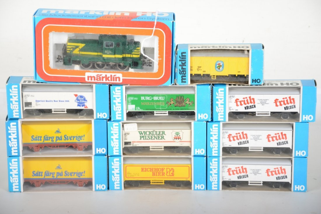 Marklin HO 3149 Diesel Freight Train