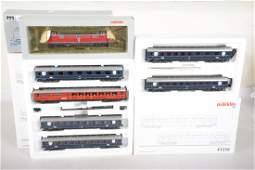 Marklin HO DB Commuter Train Set