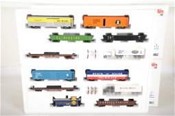 Marklin HO 4862  4863 American Freight Car Sets