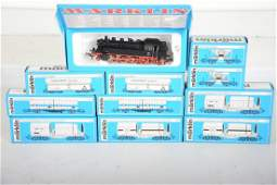 Marklin HO 3096 Steam Freight Set