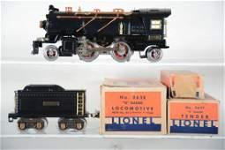 Super Boxed Lionel 262E Steam Locomotive