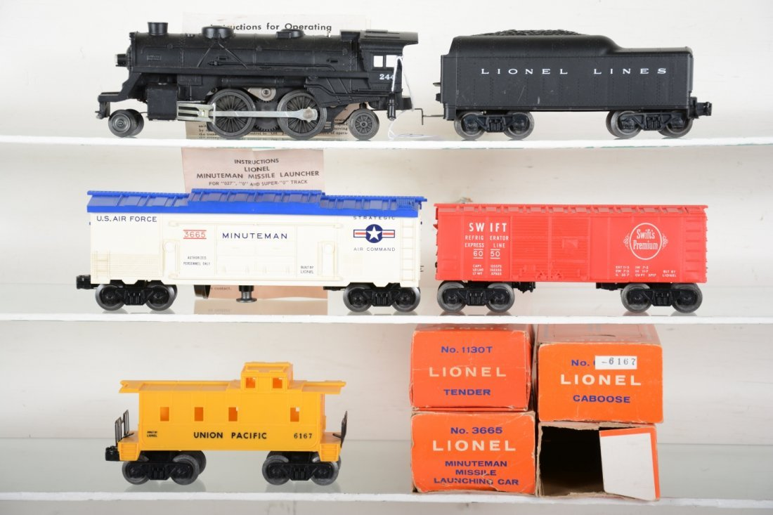 Boxed Lionel Steam Freight Set