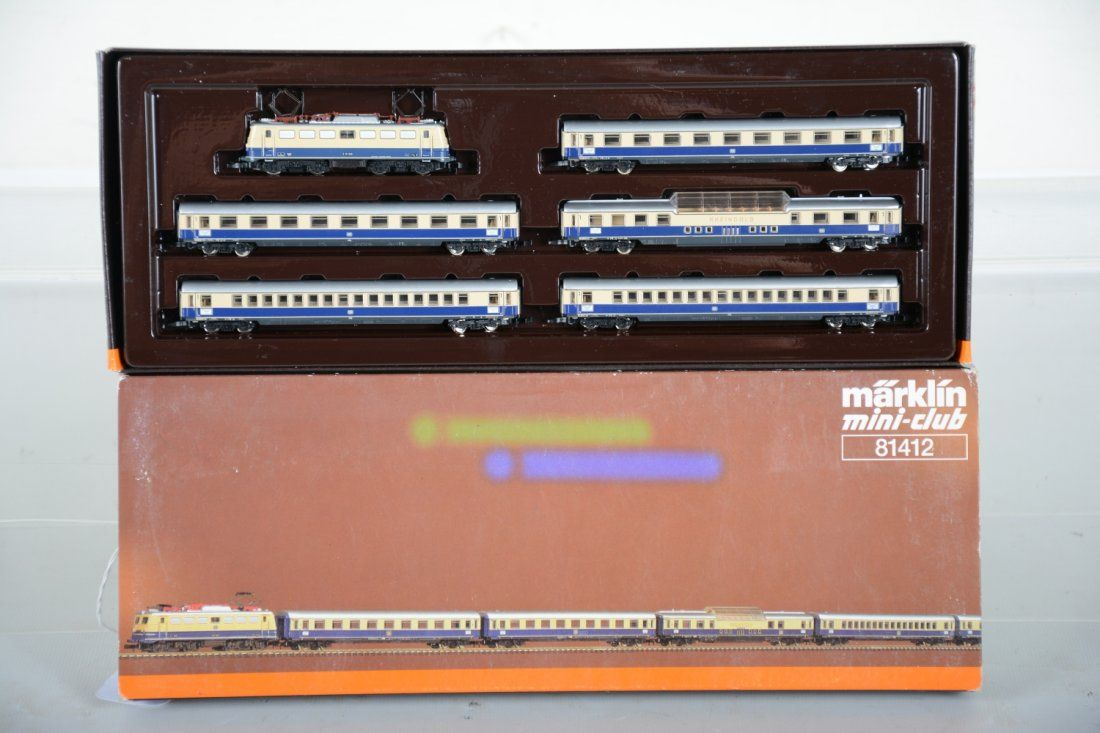 Marklin Z Ga 81412 DB Express Train Set