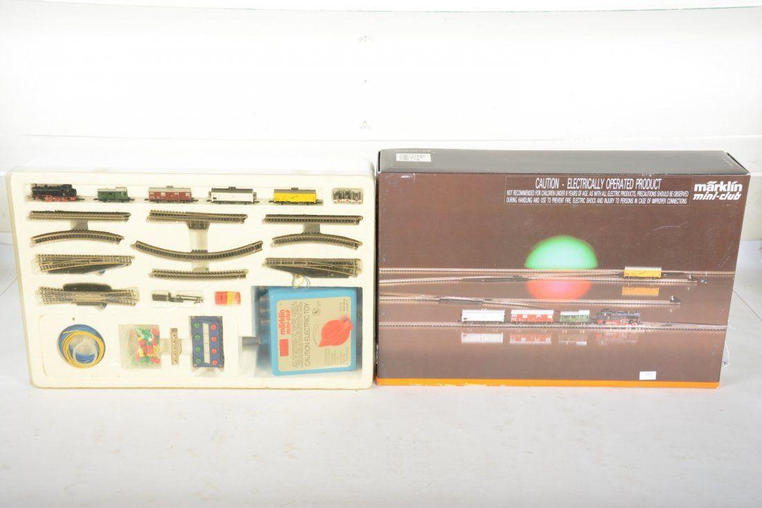 Deluxe Marklin Z Ga Set 8160