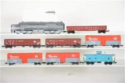 Marklin HO NYC Diesel Freight Set