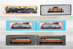 Assorted Boxed HO Locomotives