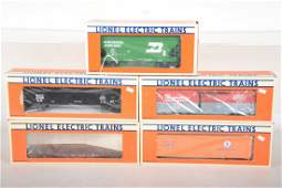 Lionel Standard O Freight Cars