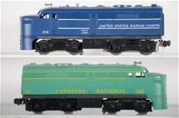 Clean Lionel 212 & 227 Alco Diesels