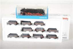 Marklin HO DB Steam Coal Train Set