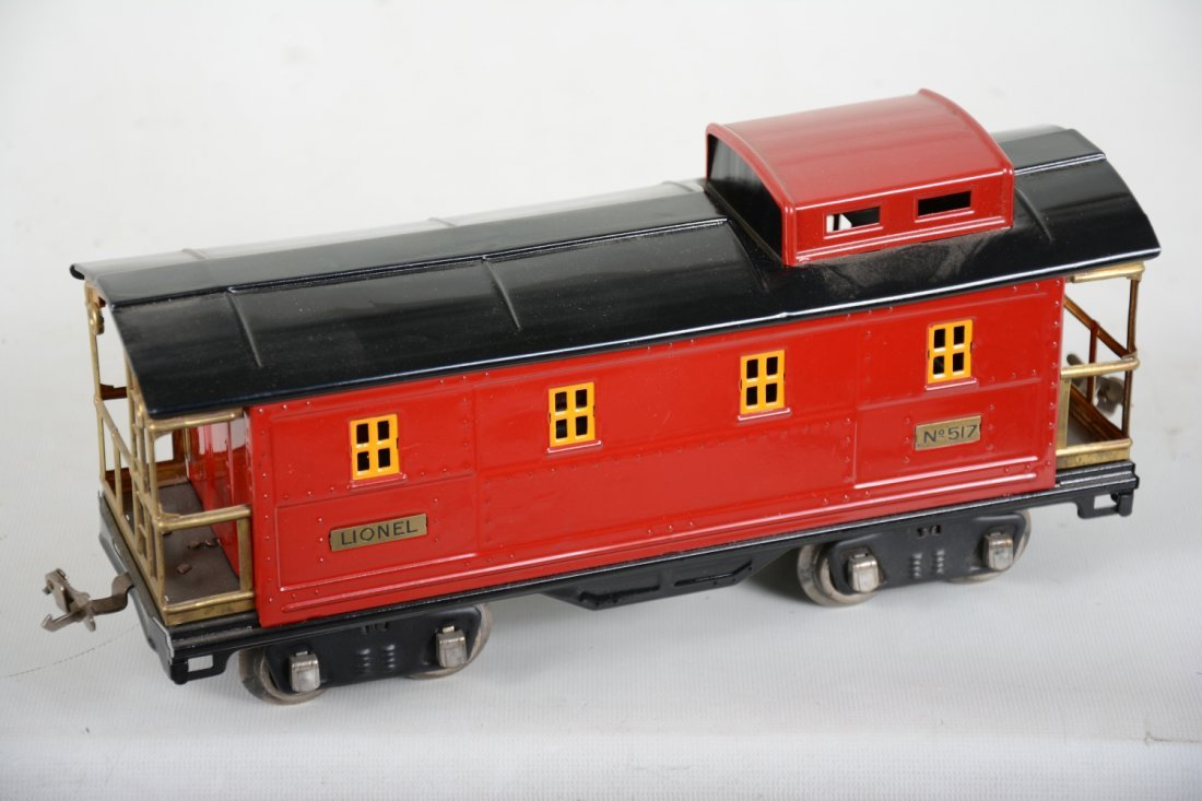 Nicely Restored Lionel 517 Coal Train Caboose