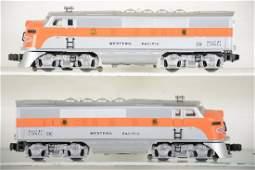 Restored Lionel 2345 WP F3 AA Diesels