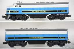 Restored Lionel 2368 B&O F3 Diesels