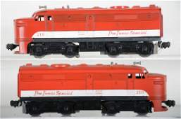 Lionel 210 Texas Special Alco AA Diesels