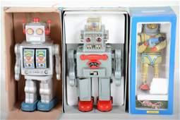 3 China Modern Toy Robots