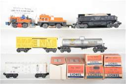 Boxed Lionel Freight Cars, Plus