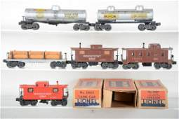 Early Lionel Freight Cars, 3 Boxed