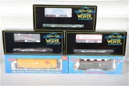 Weaver & Atlas Standard O Freight Cars