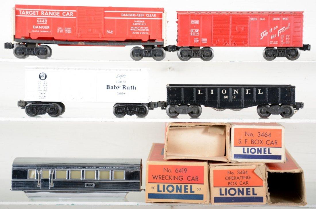 Lionel Empty Boxes & Cars Lot