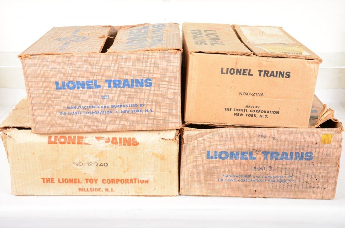 EMPTY Lionel Set Boxes