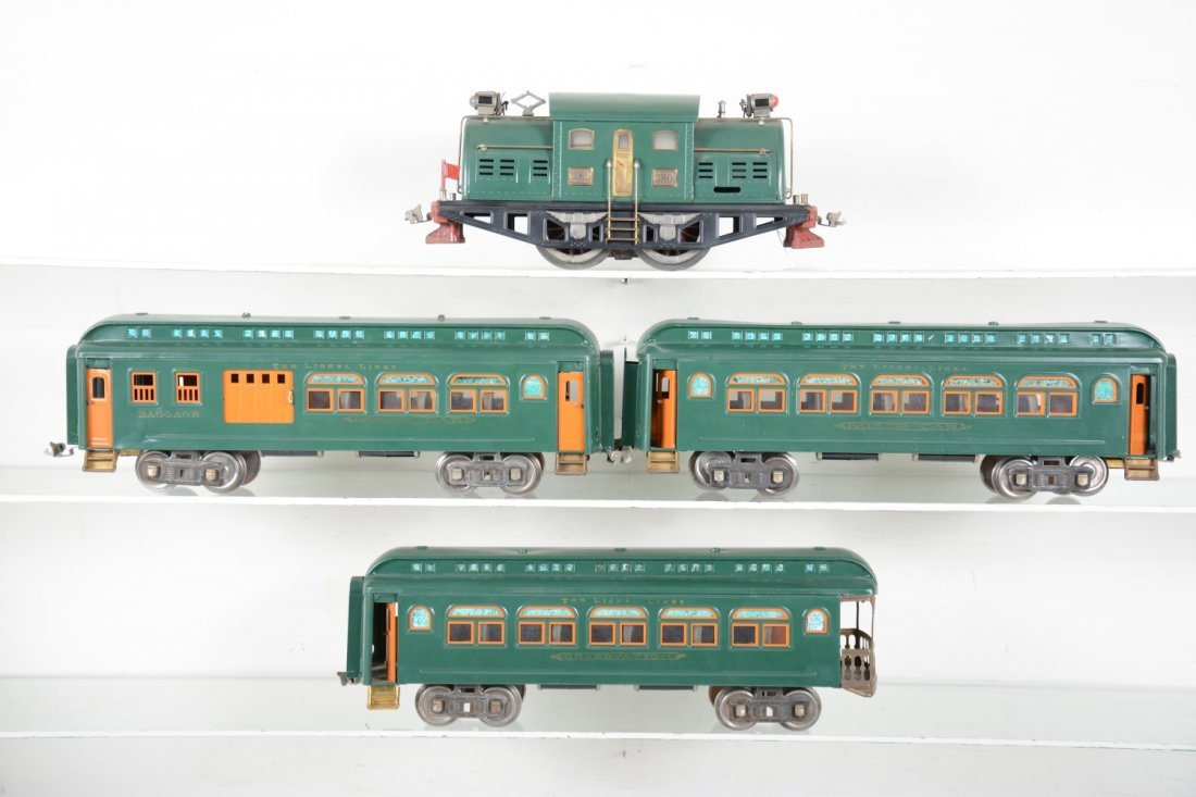 Restored Lionel 380 Passenger Set