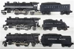 Unusual Lionel Steam Locomotives